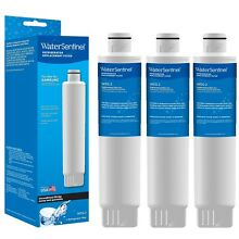Refrigerator Filter by Water Sentinel for Samsung HAF CIN EXP  3 Pack