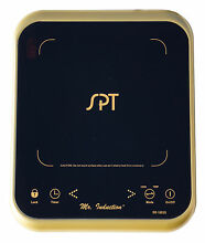 Sunpentown Micro Induction Cooktop Portable Countertop 1650W Gold SR 1883G