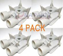 4 PACK 3352493 3363892 3352496 Washer Drain Pump for Whirlpool  Kenmore  Kitchen