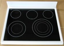 KitchenAid Range Glass Cooktop W10240342 W10292724 WHITE KERS205TWH2 RY1010019