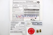 Genuine OEM WE25M74 GE Washer Dryer Combo Kit Gas Conversion 27  PS3499704