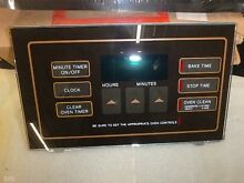NEW Ge Vintage Face Plate control Range Stove Cooktop FE270