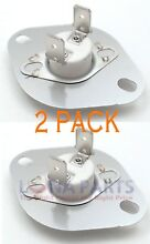 2 PACK  WP3403607 for Whirlpool Kenmore Dryer Thermostat AP2946932 PS346453 340