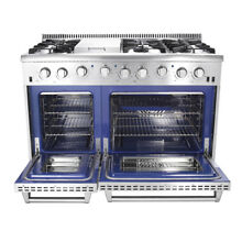 Thor Kitchen HRG4808U 48  Professional Stainless Steel 6 burners Gas Range New