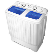 Portable Compact Top Load Laundry Clothing Washing Machine Washer Spin Dryer Set