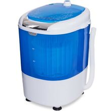 Mini Portable Small Washing Machine Laundry Clothes Washer Spin Dryer Unit Set