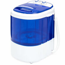 BCP Portable Compact Washing Machine w  Hose   Blue