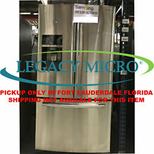 Samsung RF23HTEDBSR 22 5CF French Door Refrigerator Counter Depth StainlessSteel