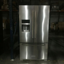KitchenAid KRFF707ESS 26 8CF French Door Refrigerator Stainless Steel