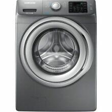Samsung WF42H5200AP 4 2CF 9 Cycle Washing Machine W Steam   Platinum RETAIL  809