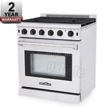 30  THOR KITCHEN Stainless Steel Free Standing Gas Range Gas Oven 5 Burners T9X4