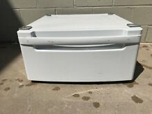 LG Pedestal  WDP3W  for a washer or dryer  white Pedestal with Storage Drawer