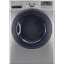LG DLEX3570V 7 4CF Electric Dryer 12 Cycle with Steam  Graphite Steel