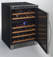 Avanti 24  Dual Zone Free Standing   Built In Wine Cooler WCR5404DZD