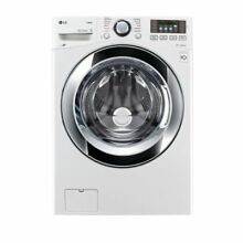 LG WM3670HWA 4 5CF 12 Cycle Front Loading Washer  White