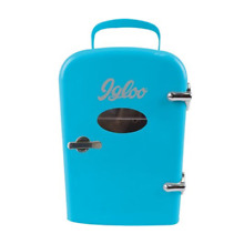 Igloo Mini Beverage Fridge   6 Cans  Blue MIS129C BLUE