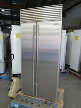 SUB ZERO 661 36  BUILT IN REFRIGERATOR PERFECT STAINLESS   47  off  9 975 LIST