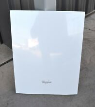 Whirlpool 18  Dishwasher White Front Panel WDF518SAAW0 WPW10567688 W10567688