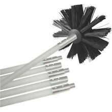 12  Deflecto Dryer Duct Cleaning Kit Clear Clean Cleaner Remover Vent Lint Brush