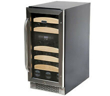 Whynter BWR 281DZ Dual Zone Built In Wine Refrigerator  28 Bottle