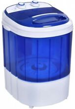 Costway Small Mini Portable Compact Washer Washing Machine 7lbs Capacity Blue