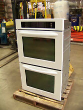 KITCHENAID 30  ARCHITECT CONVECTION DOUBLE OVEN KEBS208SWH WHITE  65  off  3 495