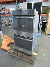 GE 27  STAINLESS CONVECTION DOUBLE OVEN w STEAM JK5500SFSS   40  off  2 895 MSRP