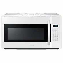 Samsung ME18H704SFW Over the Range Microwave Microwave White
