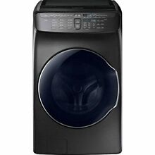 Samsung FlexWash WV55M9600AV 5 5CF Washer with Steam Black Stainless Steel