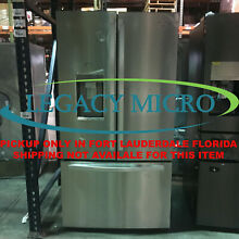 Whirlpool WRF993FIFM 31CF French Door Refrigerator Monochromatic Stainless Steel