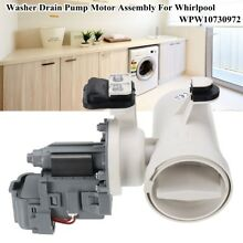 W10130913 Washer Drain Pump Motor Replace For Whirlpool WPW10730972 W10241025