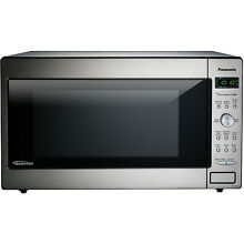 Panasonic 2 2 cu  ft  Stainless Microwave  1250 watts  Inverter Technology