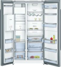 Bosch KAD92AI30   Doors Stainless Steel   Cool Combi Fridge Freezer Side by Side