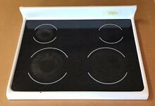Frigidaire Range Glass Cooktop 316456241 WHITE 790 96002604 VF93576086