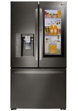LG LFXC24796D 23 5CF Counter Depth French Door Refrigerator Black StainlessSteel