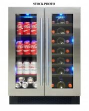 Element By Vinotemp EL 2160BWC Dual Zone Wine Cooler   Beverage Center   NEW