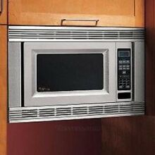 Whirlpool MK1170XPS 30  Countertop Microwave Oven Trim Kit Stainless Steel