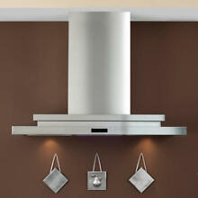 36  Pelos 2200 Series Stainless Steel Wall Mount Range Hood with 470 CFM Fan