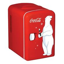 Koolatron Coca Cola 6 can Compact Electric Cooler and Warmer