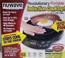 NuWave Precision Induction Cooktop with 9  Fry Pan