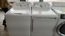 GE 7 2 Cu Ft  Front Load Electric Dryer and Washer