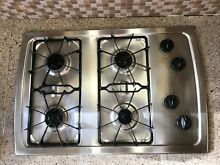 Whirlpool 31  4 Burner Gas Cooktop Model SCS3017RS01