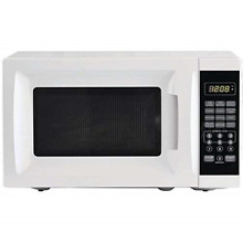 Mainstays 0 7 cu ft 700W Output Microwave Oven  White
