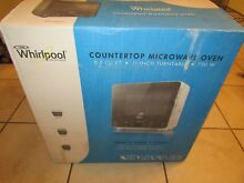 Whirlpool WMC20005YW Compact Countertop Microwave  0 5 Cu  Ft  White  750W