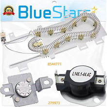 8544771   279973 Dryer Heating Element With Dryer Thermal Cut off Fuse Kit by