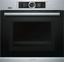 Bosch HNG6764S6 Stainless Steel   Microwave Oven with Dampfunterst tzung