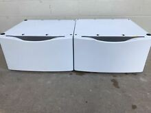 Whirlpool XHP1550VW0 15  Laundry Pedestal White