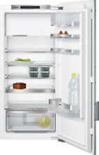 Siemens KF42LAF30   Built In Refrigerator with White Door Front and Aluminum