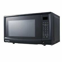 Danby DMW07A4BDB  7 CuFt 700 Watt Microwave Oven in Black  SMALL DENT