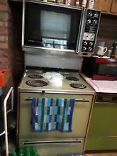 Green Stove Range SIGNATURE COOKING CENTER  AUTO CLEAN Upper Lower Ovens  Wards